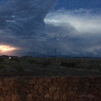 Photo taken at Marfa Mystery Lights Viewing Area by Amber G. on 6/3/2017