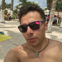 Photo taken at Playa Posada by Andres S. on 3/25/2016