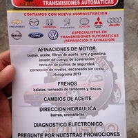 Photo taken at Automecanica Jalisco by Pedro S. on 7/17/2013