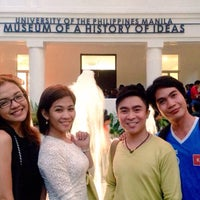 Photo taken at Museum of a History of Ideas - University of the Philippines Manila by Lan on 12/15/2014