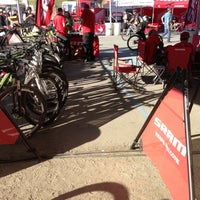 Photo taken at SRAM Ride Experience - Sea Otter Classic by Tony F. on 4/21/2013