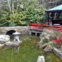 Photo taken at Annsleigh Garden & Cafe by Rob N. on 10/7/2014