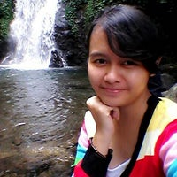 Photo taken at Air Terjun Sekarlangit by Olivia N. on 9/7/2014