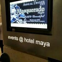 Photo taken at Hotel Maya Sky Lounge by Asmadi S. on 1/9/2016