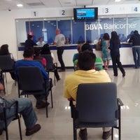 Photo taken at BBVA Bancomer Sucursal by Maggi D. on 1/15/2015