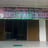 Photo taken at Lamongan dua rasa by Liliana F. on 10/28/2013