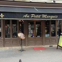 Photo taken at Au Petit Marquis by Dalas M. on 3/24/2013
