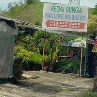 Photo taken at Kedai Bunga Pauline Nursery BRP by Sonny Oh on 5/6/2013