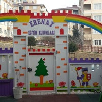Photo taken at özel erenay anaokulu by Elif K. on 1/14/2014