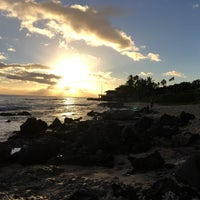Photo taken at Makaha Beach Park by Yoshi Y. on 1/7/2018