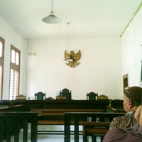 Photo taken at Pengadilan Negeri Bandung by Te Q. on 11/7/2013