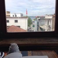 Photo taken at Sığınak Cafe by Necip M. on 5/1/2014