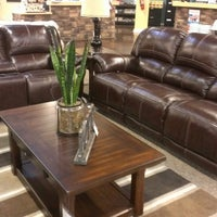... Photo Taken At Ashley Furniture HomeStore By Louis S. On 2/26/2015 ...
