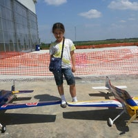 Photo taken at Bazan Grass Airport by Милчо Й. on 6/7/2014