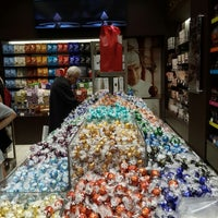 Photo taken at Lindt by Jayssie T. on 6/19/2014