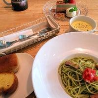 Photo taken at 夙川BASE CAFE by AYAKO M. on 10/27/2013