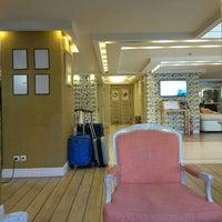 Photo taken at Airotel Stratos Vassilikos Hotel by Argyris I. on 7/8/2016