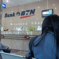 Photo taken at Bank BTN by Egi P. on 3/24/2017