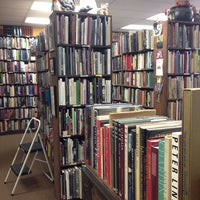 Photo taken at Sam Johnson's bookshop by Tal S. on 12/3/2013