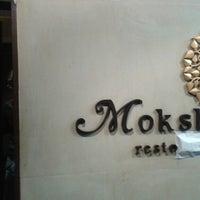 Photo taken at Moksha by Gregory F. on 4/25/2014