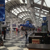 Photo taken at Concourse C by linley a. on 3/30/2013