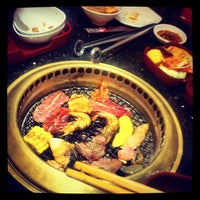 Photo taken at AKA USHI - Japanese Grill & Sushi by W. S. on 10/12/2012