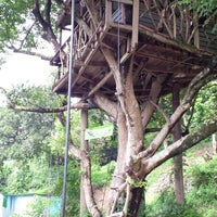 Photo taken at Tree Top Cottage 樹屋田莊 by Tony C. on 9/1/2013