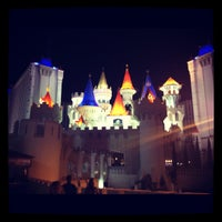 Photo taken at Excalibur Hotel & Casino by Dave H. on 10/2/2012