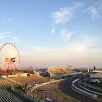 Photo taken at 鈴鹿サーキット 最終コーナー by Yankinu on 10/26/2012