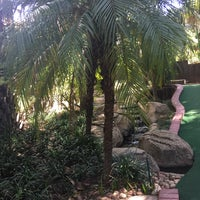 Photo taken at Adventure Golf by Rubina H. on 1/10/2016
