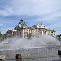 Photo taken at Karlsplatz (Stachus) by Rafael G. on 6/15/2013