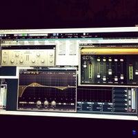 Photo taken at Rec.London Studios by Emre Y. on 1/19/2014