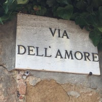 Photo taken at via dell'amore by Н. З. on 7/29/2017