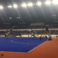 Photo taken at Stadium Hoki Nasional by Siti Nurhayyu R. on 8/29/2017