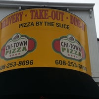 Photo taken at Chi-Town Pizza by Tony V. on 10/27/2013