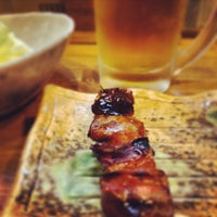 Photo taken at 炭火串焼のお店 串豊 by marsyearmar on 5/30/2013