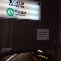 Photo taken at 銀座ライオン 北千住店 by Keiichi S. on 10/31/2017