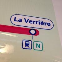 Photo taken at Gare SNCF de La Verrière by Alisdair C. on 6/26/2013