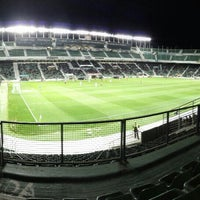 Photo taken at Estadio Manuel Martínez Valero by marija m. on 1/2/2016