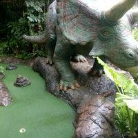 Photo taken at Dino Park Mini Golf by Marisha W. on 6/3/2016