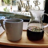 รูปภาพถ่ายที่ Toby's Estate Coffee โดย Noah W. เมื่อ 8/20/2017