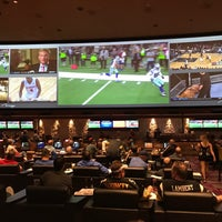 Photo taken at The Mirage Race & Sports Book by Noah W. on 1/16/2017