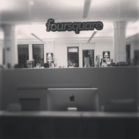 Photo taken at Foursquare HQ by Noah W. on 12/19/2012