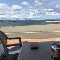 Photo taken at 二色の浜 海浜緑地 by Kunio A. on 7/1/2017