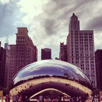 Photo taken at Cloud Gate by Anish Kapoor by Waqas S. on 7/15/2013