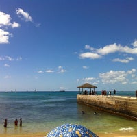 Photo taken at Waikiki Beach Walls by Neenz F. on 2/9/2013