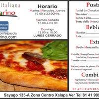 Photo taken at Pizzeria Italiana Pacciarino by Pizzeria Italiana Pacciarino on 2/24/2014
