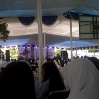 Photo taken at SMAN 28 Jakarta by Navyra P. on 1/24/2014
