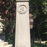 Photo taken at John Hancock Grave by Jennifer S. on 6/15/2017