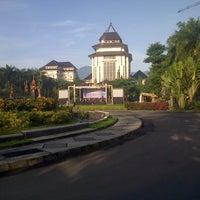 Photo taken at Gedung Rektorat by AxeL D. on 12/30/2012
